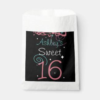 菓子16誕生会 フェイバーバッグ