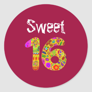 菓子16 ラウンドシール