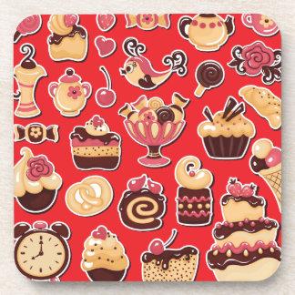 菓子 コースター