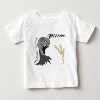 菜食主義のゾンビはGraaaainsがほしいと思います! ベビーTシャツ