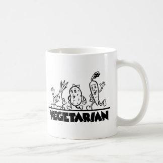 菜食主義の商品 コーヒーマグカップ