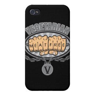 菜食主義の握りこぶし iPhone 4/4Sケース