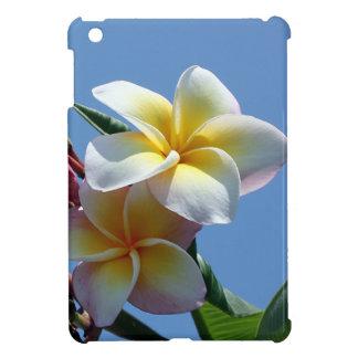 華やかなプルメリアのFrangipaniの開花 iPad Mini Case