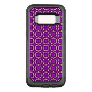 華美なとげがあるクローバー(調節可能な色) オッターボックスコミューターSamsung GALAXY S8 ケース