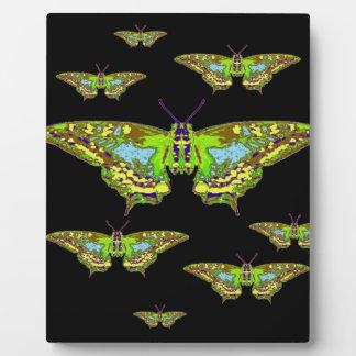 華美なカムフラージュの蝶魔術 フォトプラーク