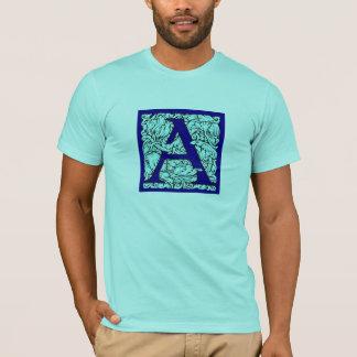 華美な大文字Tシャツ Tシャツ
