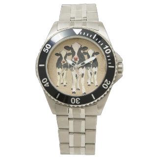 華美な牛腕時計 腕時計