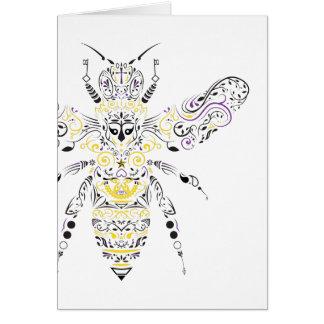 華美な蜂蜜の蜂 カード