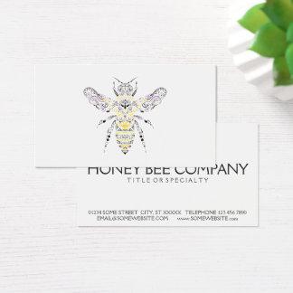 華美な蜂蜜の蜂 名刺