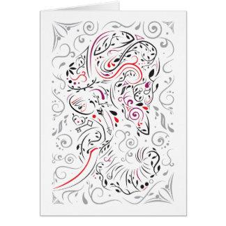 華美な象 カード