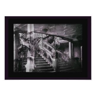 華美な階段の吹き抜けDのデッキ カード