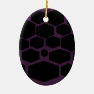 華美の六角形の設計 セラミックオーナメント