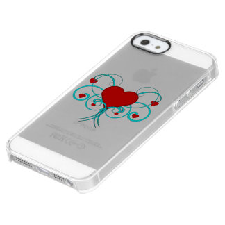 華麗さのハート クリア iPhone SE/5/5sケース