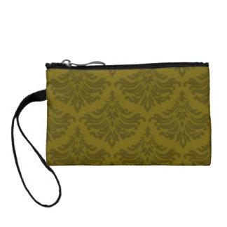 華麗さの森林緑のBagettesのレトロのバッグ コインパース