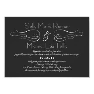 華麗さの結婚式招待状 カード