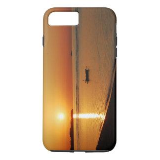 華麗なオレンジ日没 iPhone 8 PLUS/7 PLUSケース