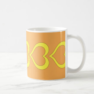 華麗なハートのマグ コーヒーマグカップ