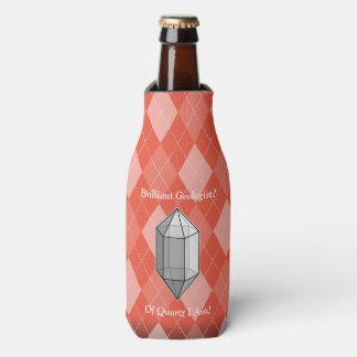 華麗な地質学者の水晶しゃれ ボトルクーラー