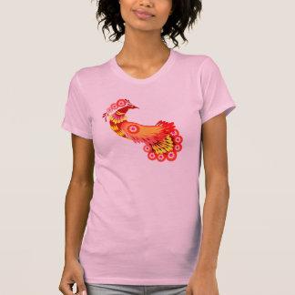 華麗な孔雀T Tシャツ