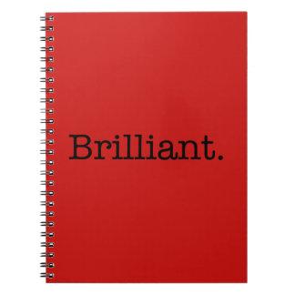 華麗な引用文のケシの赤い傾向色のテンプレート ノートブック