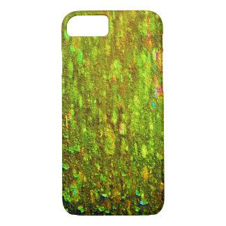 華麗な木製の藻 iPhone 8/7ケース