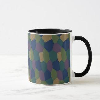 菱形のカムフラージュのマグ マグカップ