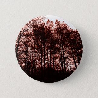 """""""落ちたな帝国""""超現実的な写真、深紅色のdreamscape 5.7cm 丸型バッジ"""