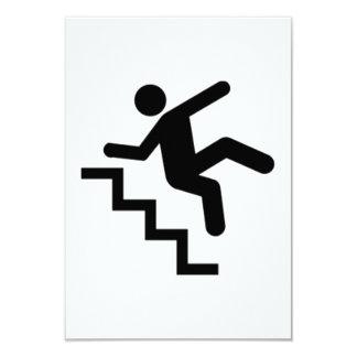 落ちている人階段 カード