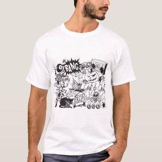 落ちるのを見るために住んで下さい Tシャツ