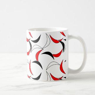 落ちる半月型のマグ コーヒーマグカップ