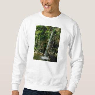 落ちる春の滝 スウェットシャツ