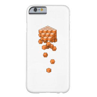 落ちる立方体 BARELY THERE iPhone 6 ケース