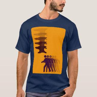 落ちる金敷 Tシャツ
