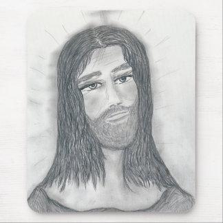 落ち着いたイエス・キリスト マウスパッド
