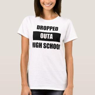 落とされたOutaの高等学校の女性のワイシャツ Tシャツ