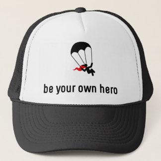 落下傘で降りる英雄 キャップ