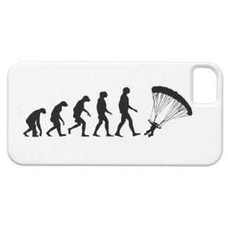 落下傘で降りるiPhone 5の場合の進化 iPhone SE/5/5s ケース