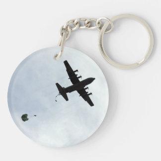 落下傘投下EC-130Hのコンパス呼出し キーホルダー