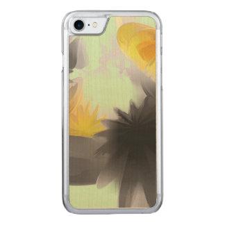 落下星のパステルの抽象芸術 CARVED iPhone 8/7 ケース