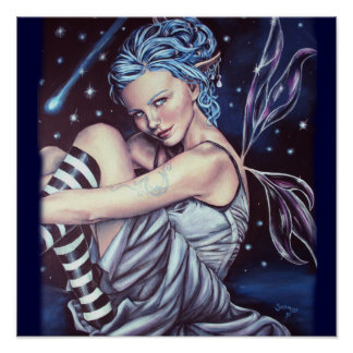 落下星のfaeryのアートワークポスター ポスター