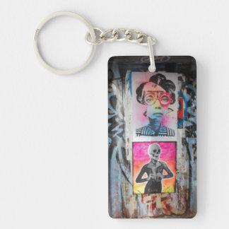 落書きのドア4 Keychain キーホルダー