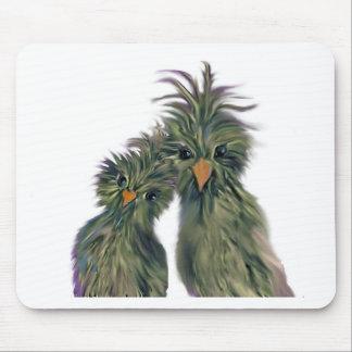 落書きのドードー愛鳥 マウスパッド