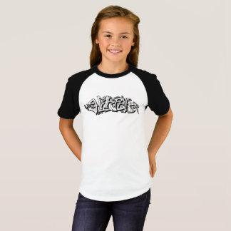 落書きのハープ奏者 Tシャツ