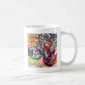 落書きの正義 コーヒーマグカップ