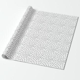 落書きの点のギフト用包装紙 ラッピングペーパー