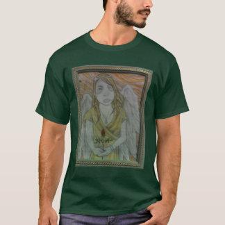 落書きの花 Tシャツ