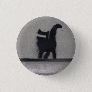 落書きの雑談の写真Pin 3.2cm 丸型バッジ