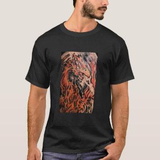 落書きの鳥 Tシャツ