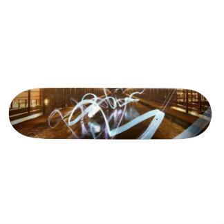 落書き板 19.7CM スケートボードデッキ