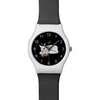 落書き猫 腕時計